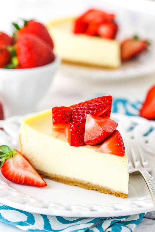 Easy Instant Pot Cheesecake Recipe Creamy Perfect Cheesecake Recipe In 2020 Cheesecake Recipes Cheesecake Instant Pot Cheesecake Recipe