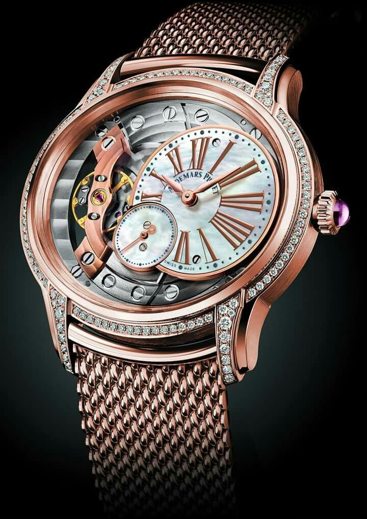 Pin by Quarter Past Nine on Skeleton Watches | Audemars