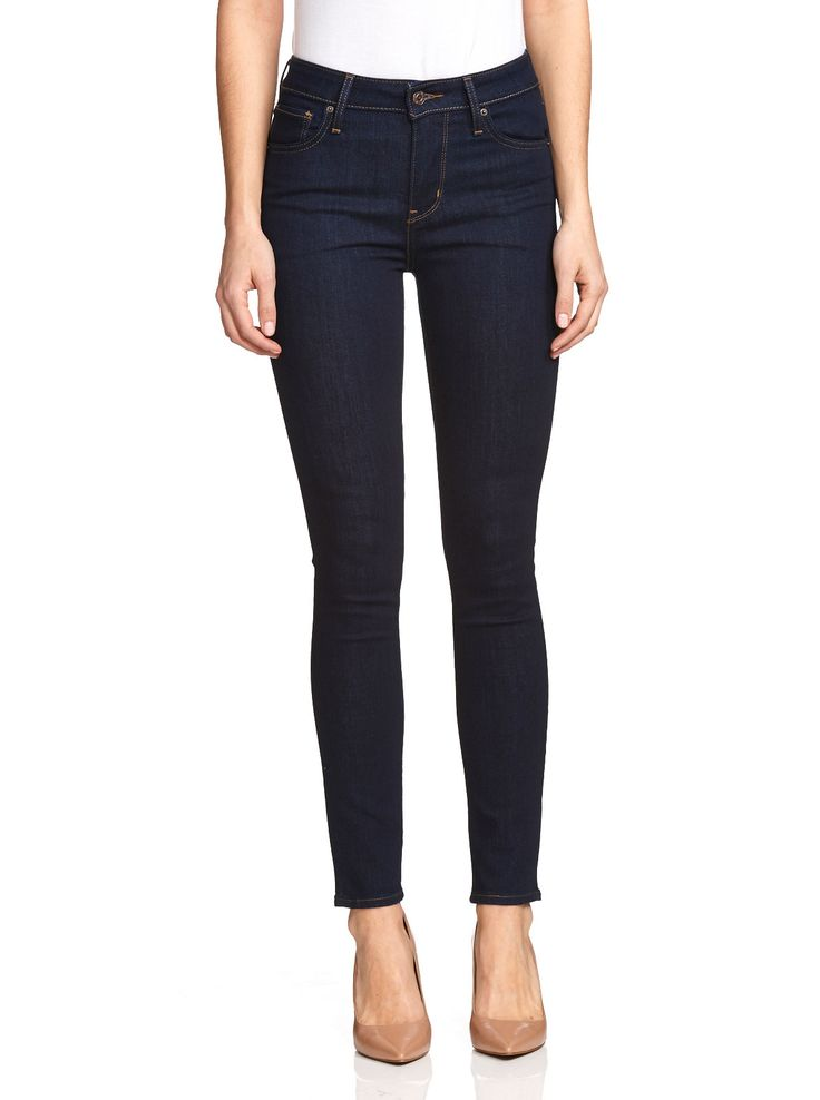 Image for Levi's 721 High Rise Skinny Lone Wolf from Just Jeans