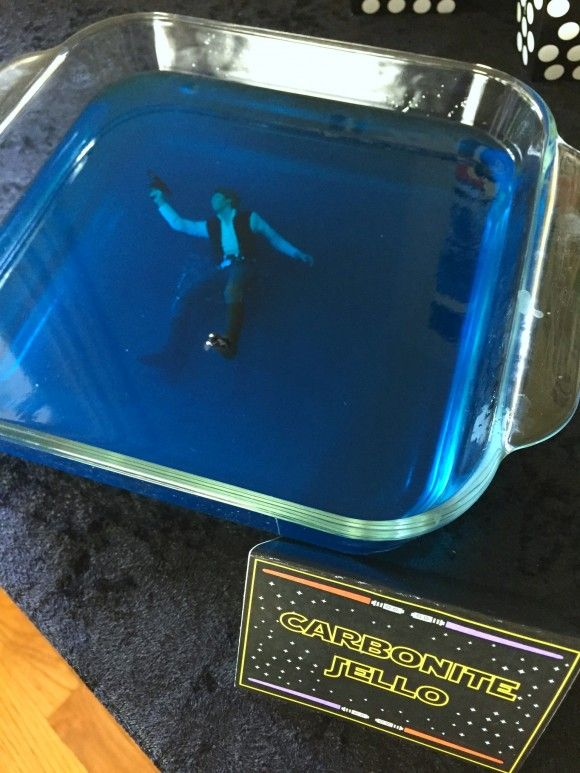 Star Wars Carbonite Jello | CatchMyParty.com