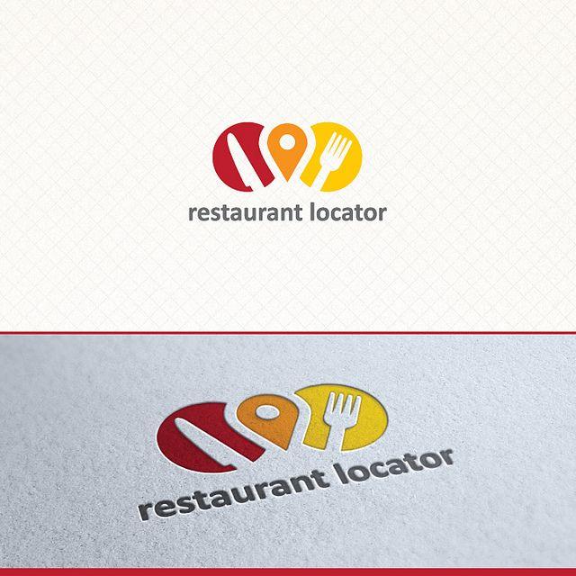 Restaurant Locator Logo Template | Flickr - Photo Sharing!