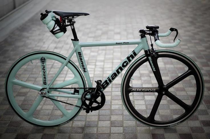 Bianchi fixed gear   Fixie / Fixed gear   Pinterest ...