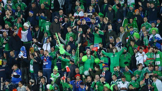 The IFA received over 50,000 ticket applications from Northern Ireland fans for Euro 2016