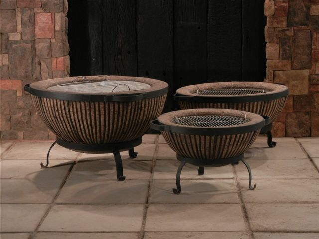 Our Three Boma Fire Pit Sizes 70cm 90cm And 110cm