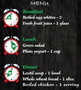 No Carb Diet Menu