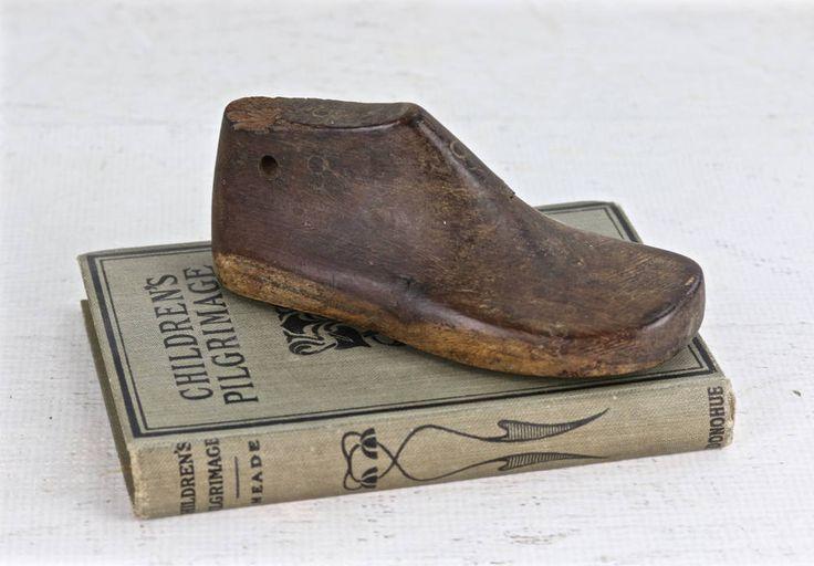 Vintage Wooden Shoe Form, Wooden Baby Shoe Form, Baby Shoe Wooden Shoe Form, Rustic Nursery Decor, Wooden Shoe Form, Wood Shoe Form by HuntandFound on Etsy