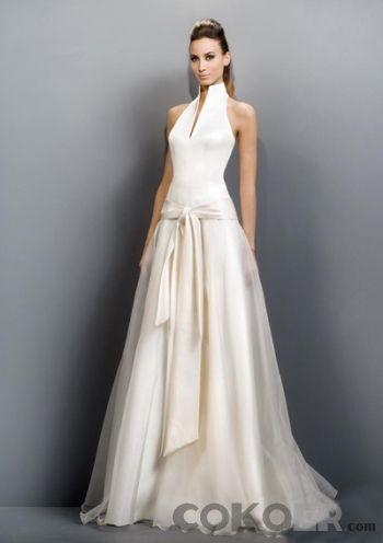 Billiga-Brudklänningar-fantastiska-a-line-princess-grimman-kapell-tåg-organza-satin-bröllopsklänningar-med-skärp