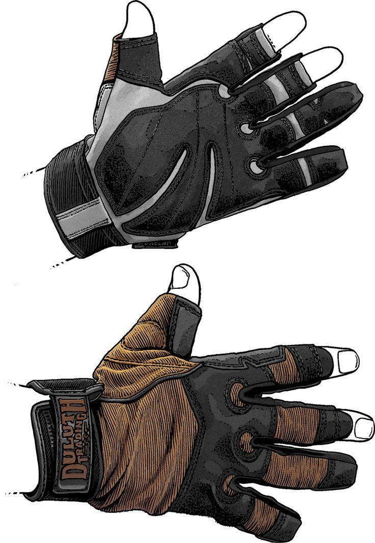 Work Gloves - Men's Duluth Trading Carpenter's Gloves - Duluth Trading