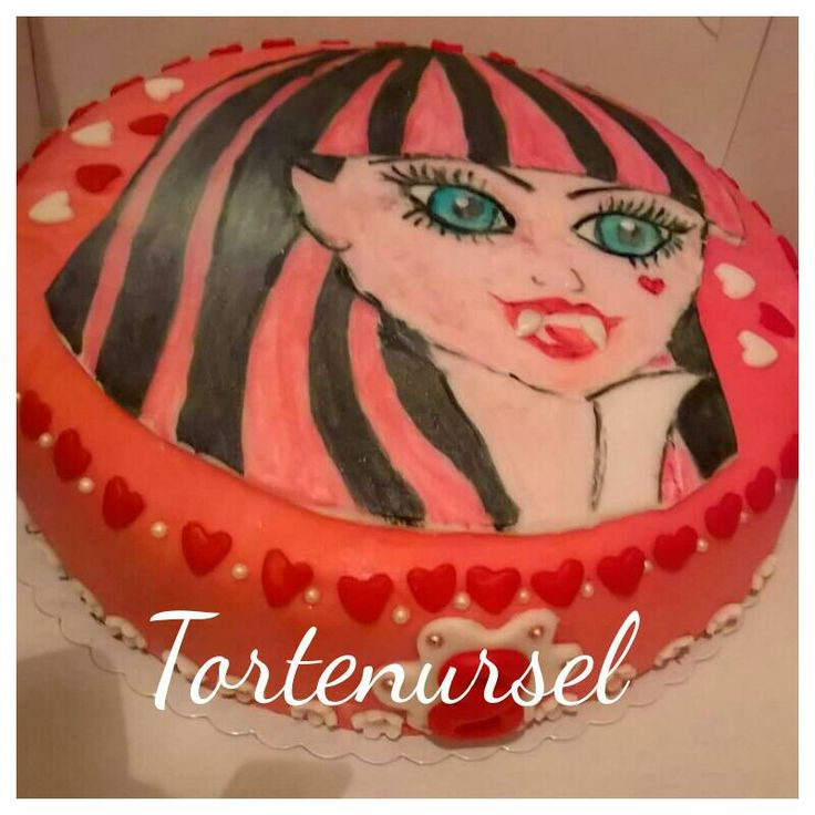 Monster High Torte