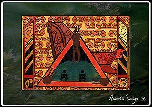 matakite - powhiri, marae tikanga, marae protocol, powhiri proceedures for visitors, unseen spiritual aspects of powhiri - art