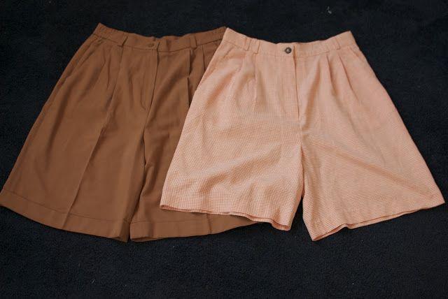 DIY Lace trimmed shorts / PAP calções com renda na bainha