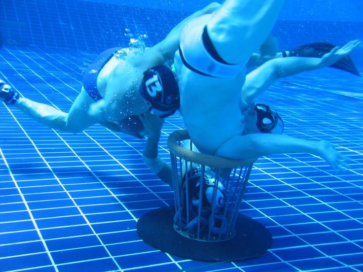 Underwater Rugby, Unterwasserrugby, Uppopallo