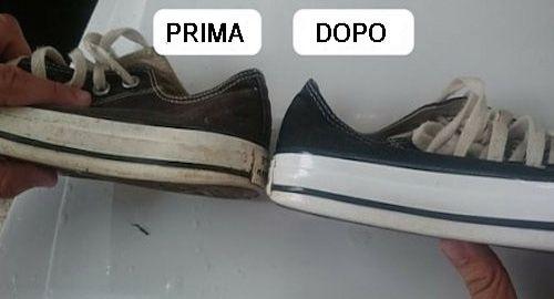 Con semplici rimedi naturali pulire le scarpe da ginnastica non è mai stato così facile. Se hai difficoltà ad eliminare le macchie ecco alcune soluzioni.