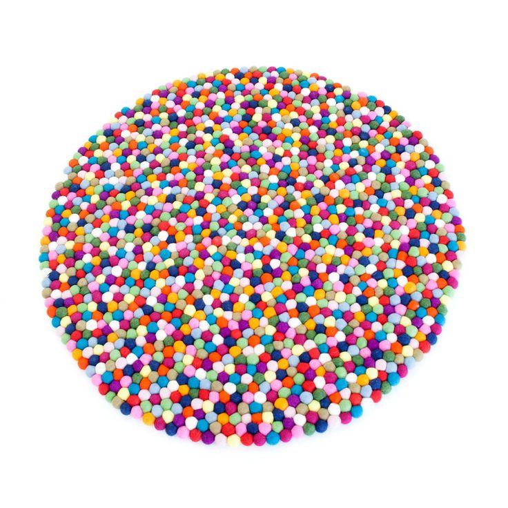 Pinocchio teppe, confetti i gruppen Tepper / Tepper / Ull hos ROOM21.no (101519r)