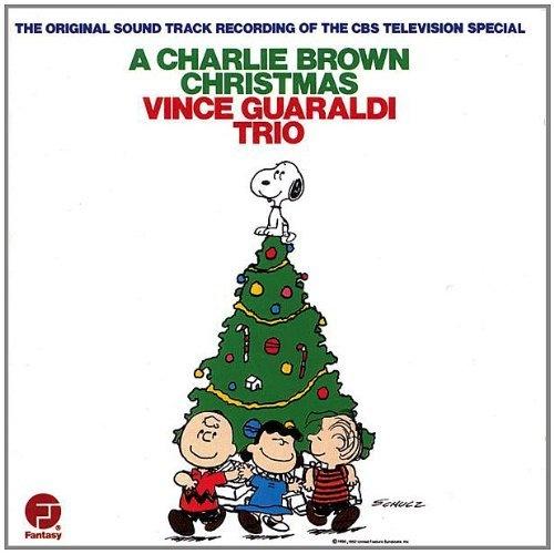 Vince Guaraldi Trio. Charlie Brown Christmas CD.