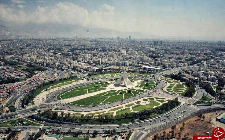 اینجا واقعا تهران است؟ +تصاویر