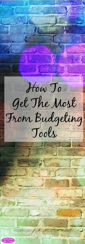 Finding the right budgeting tools isn't always easy. But using your budgeting tools correctly will help with your financial planning long-term.