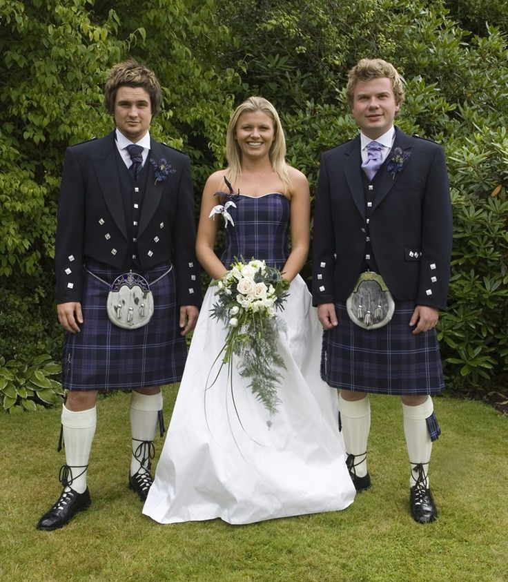 Tartan Has Been At The Height Of Fashion For Centuries What Do You Think Wedding Dress Bit A Twist On Classic White Gown