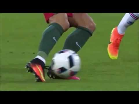 CR7 funny incident against the latest euro iceland 2016