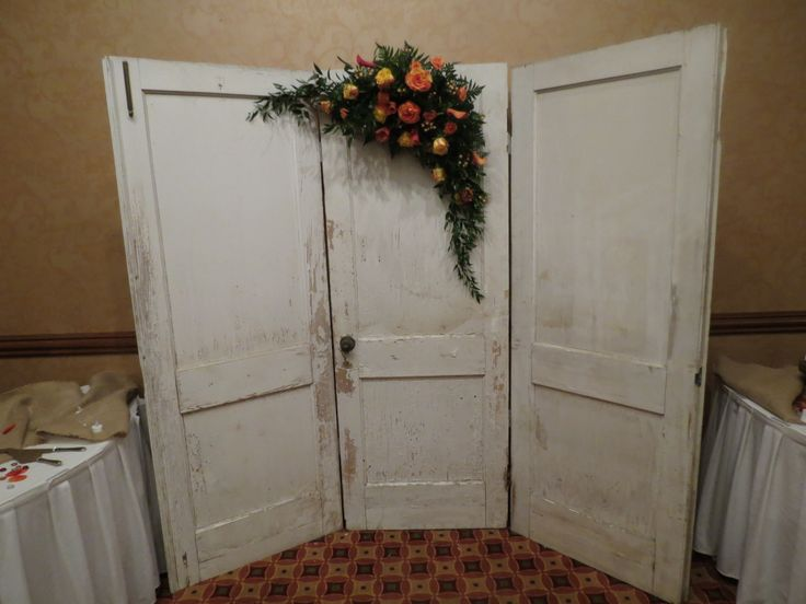 10 best house of flowers wedding ceremony reception flowers images rustic door swag at the embassy suites hot springs mightylinksfo