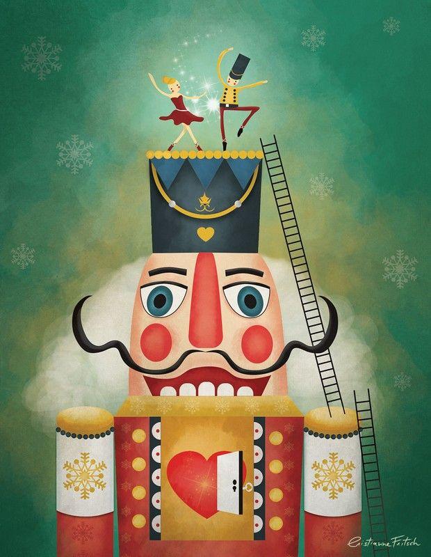 Nutcracker Illustration - Cristianne Fritsch