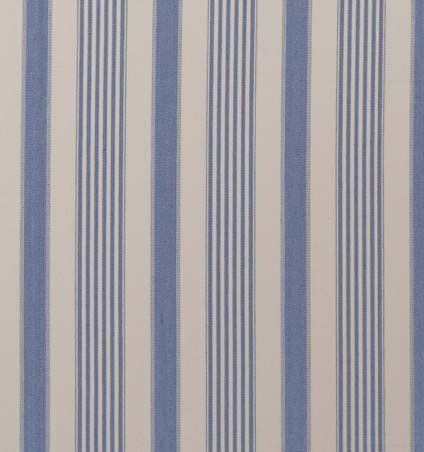 View All Curtain Fabrics Norfolk Stripe Parisian