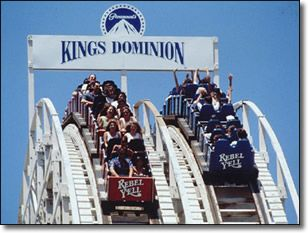 Kings Dominion one  of the highlights of my life seeing the joy in Chris' face when he rode his first ride
