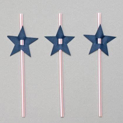 Rockstar Theme: Star Straws