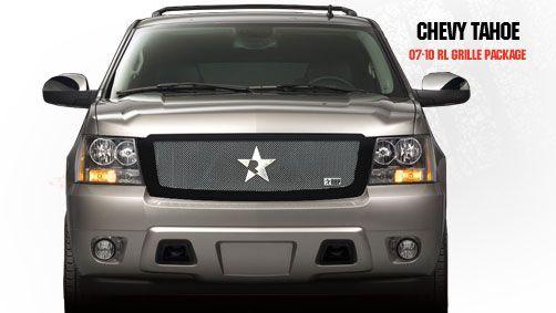 Chevrolet Tahoe 2007-2011 - Rbp Rl Series Plain Frame Main Grille Black 1pc