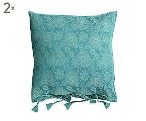 turquoise 60 60 60 forward 2 katoenen kussens turquoise 60 60 error ...