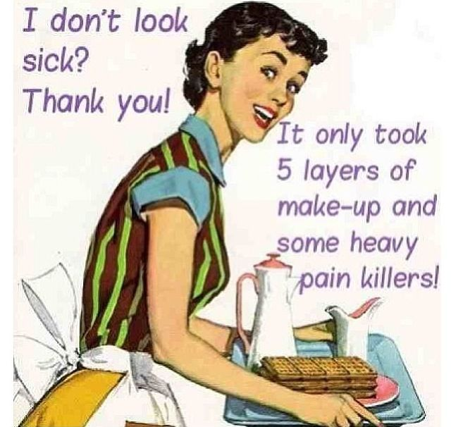 #autoimmune disease - blessing the inventor of make up daily!