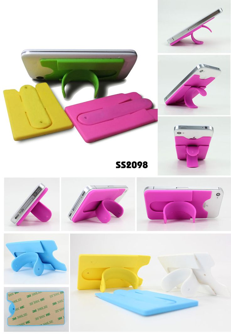 Silicone cell phone holder & card holder   * Material:   Silicone+ 3M glue  * Unite size: 9.5*5.7*0.3CM  * Universal  for all cell phones www.ideagroupigm.com