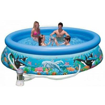Надувной бассейн Intex 28126, 305 х 76 см http://intex-bassein.com.ua/naduvnye-basseiny/intex-28126/