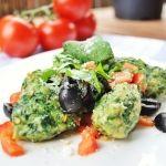 Rezept - Spinatnocken mediterran