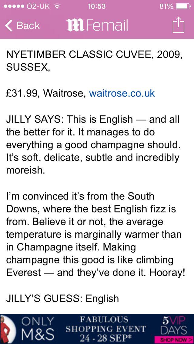 English champagne