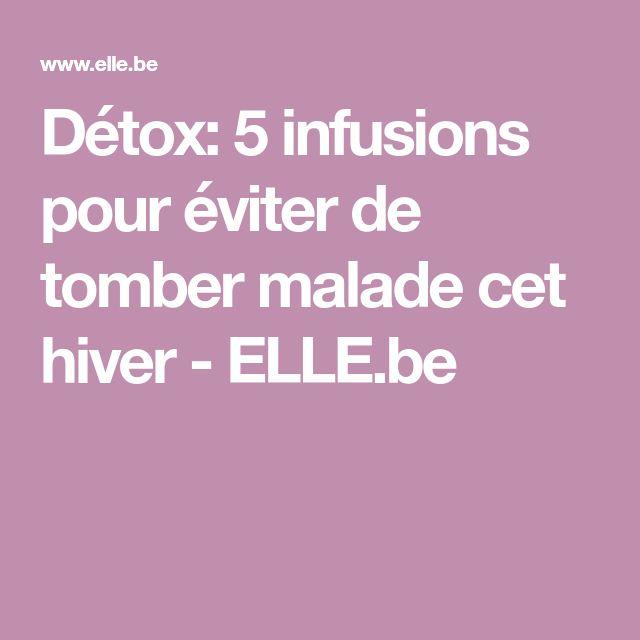 Détox: 5 infusions pour éviter de tomber malade cet hiver - ELLE.be