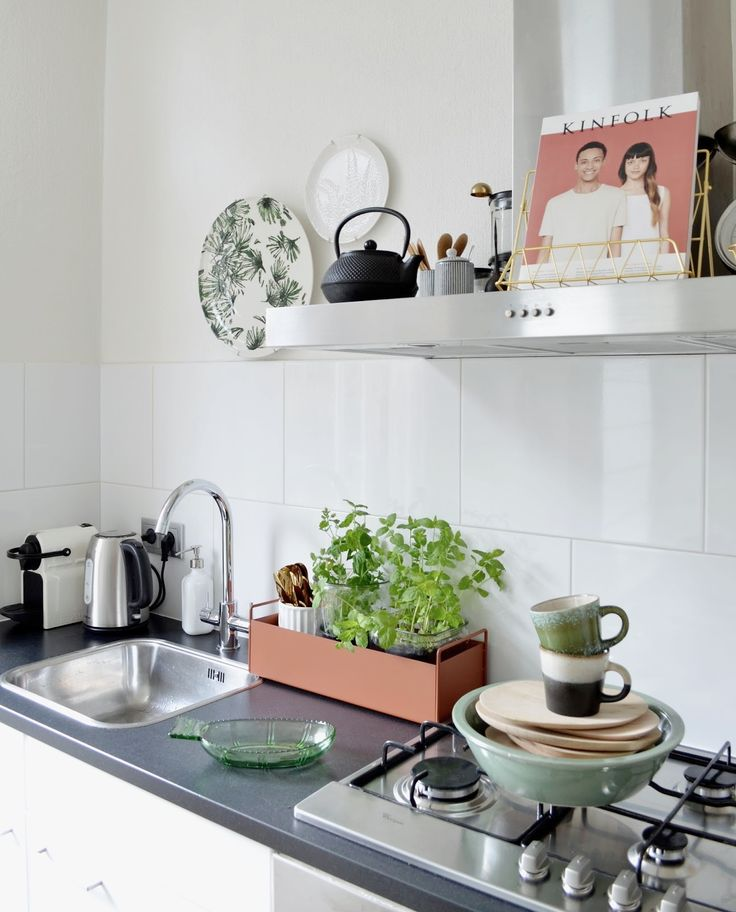 Plant Box in the kitchen / Ferm Living // photography & styling by Milou Nieuwenhuis