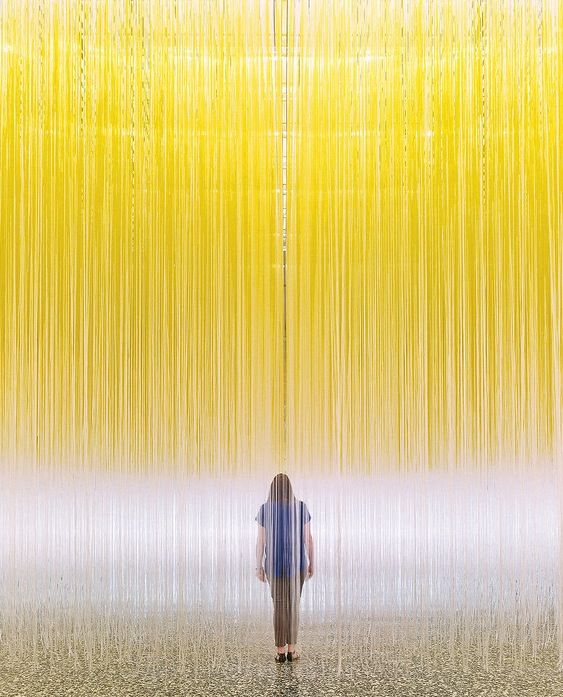 Jesús Rafael Soto's Houston Penetrable, which debuted at Houston's Museum of Fine Arts this summer, enveloped visitors in 24,000 dangling plastic strands.