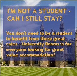University Rooms - cheap accomodation in various cities.