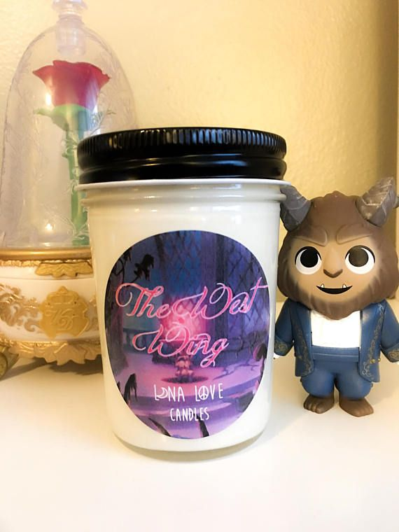 100% Soy The West Wing Beauty And The Beast Inspired Scented