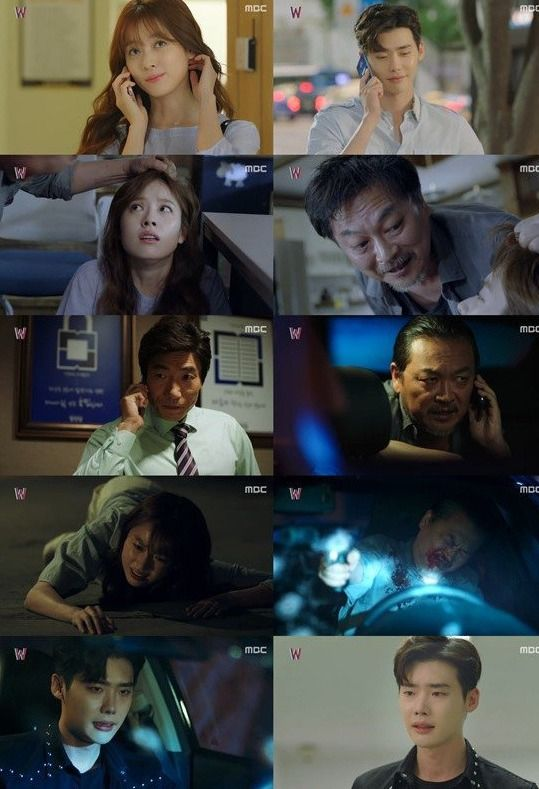 [Spoiler] Added episode 13 captures for the #kdrama 'W'