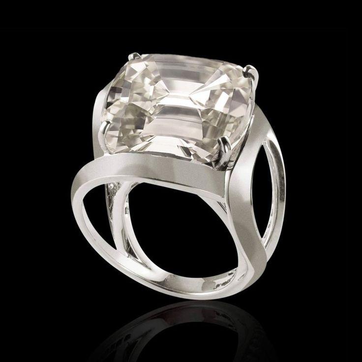 Bague diamant or Future Solo - Maison Jaubalet