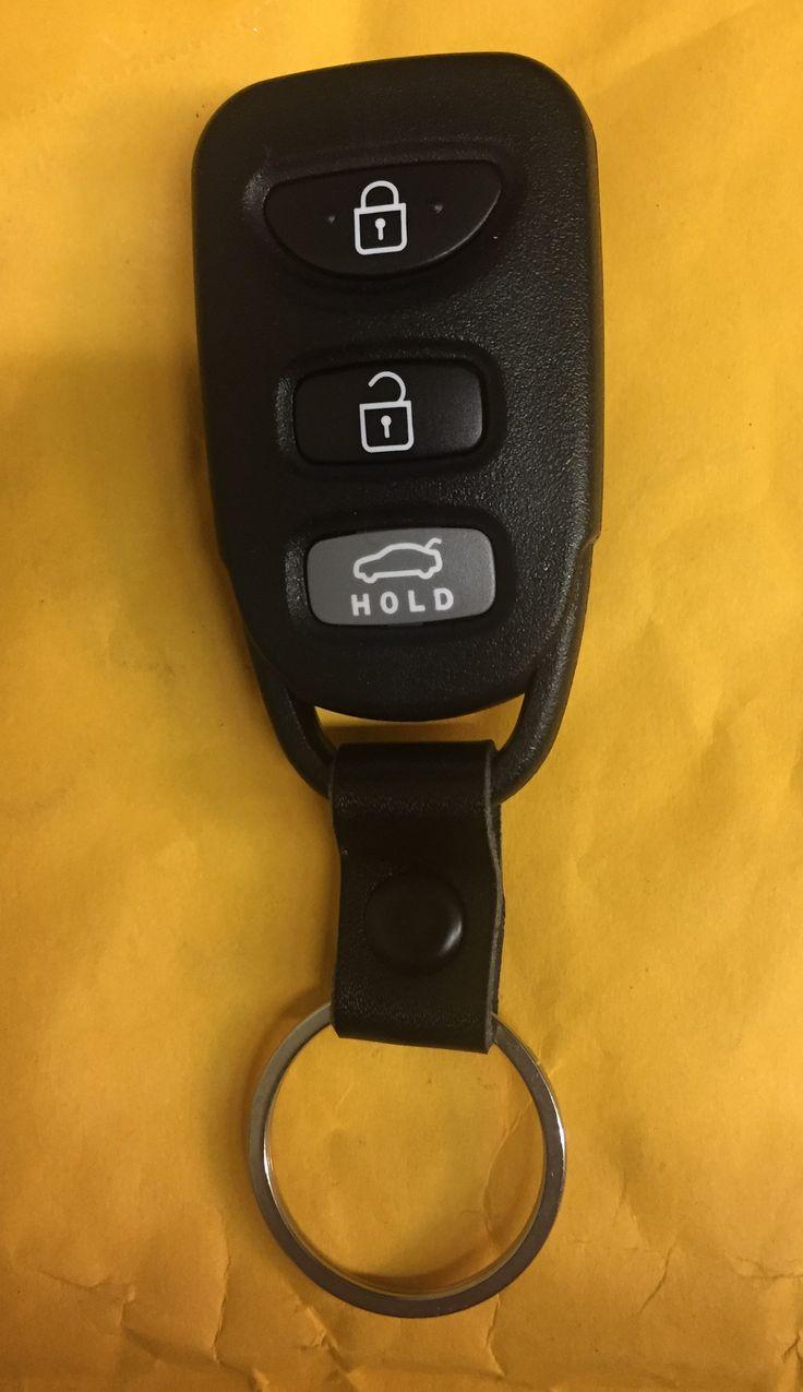 Hyundia Elantra 2011-2016 3 Button Remote