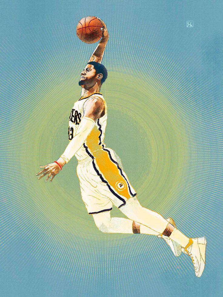 NBA Stars Portraits on Behance