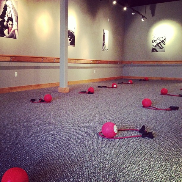 Ready for the weekend warriors to arrive #purebarre #pbcarrollwood #ltb