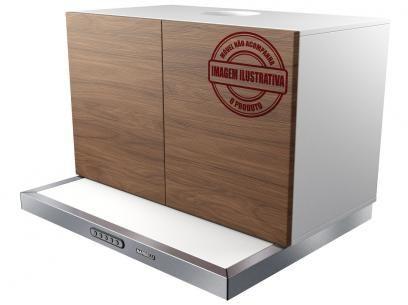Depurador de Ar Nardelli Inox 60cm Slim - 3 Velocidades com as melhores condições você encontra no Magazine Edmilson07. Confira!