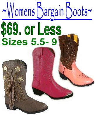 cheap womens cowboy boots found at www.WildCowboy.com  I came across this site.  Its really cool and I was shocked to see the amount of cute boots for women that would fit my size 8 foot and I did not have to spend allot of money on.  I found these super cool distressed brown boots with fringe on the side and gold stars.  I really love fringe, and have been looking for it forever.  I don't think anyone makes fringe boots anymore, so when I found these boots at The Wild Cowboy, I had to have…