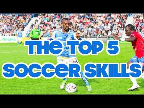 This video shows the top 5 soccer skills.  - Improve your dribbling, juggling, strength, and much much more.