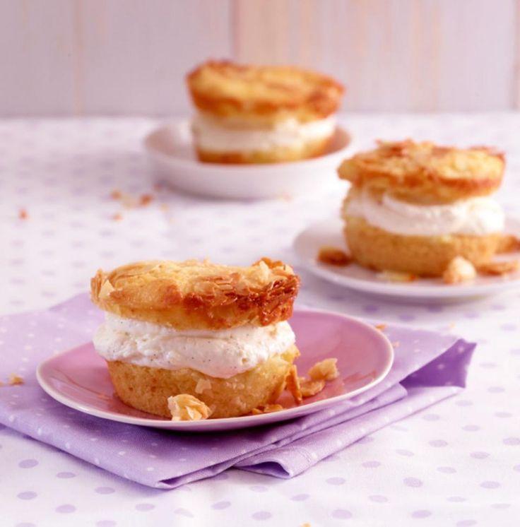Rezept: Bienenstich-Muffins
