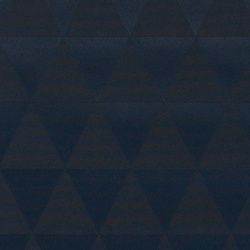 Tekstilvoksduk blå jacquard vevet